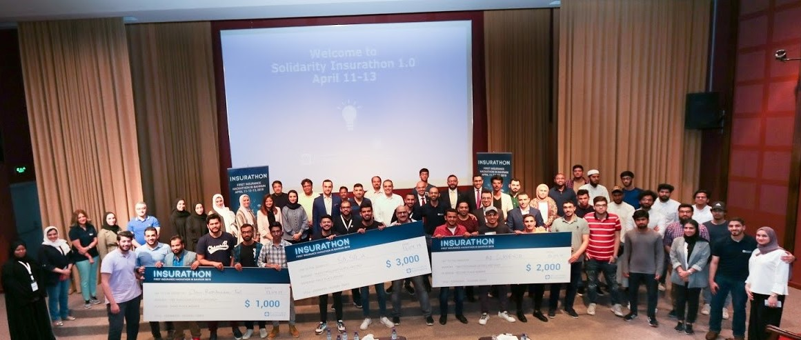 Solidarity Bahrain launched the first Bahrain Insurance Hackathon in partnership with University of Bahrain